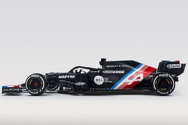 La première monoplace d'Alpine pour la saison 2021 de Formule 1 devrait être habillée en noir.