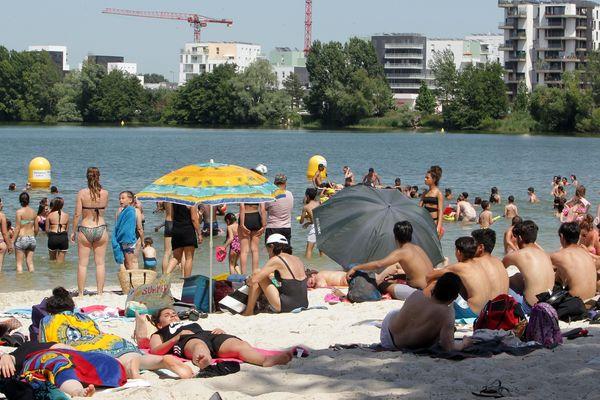 La plage de Bordeaux-Lac ouvre ce week-end. Ça tombe bien, le thermomètre va grimper jusqu'à 32°C.
