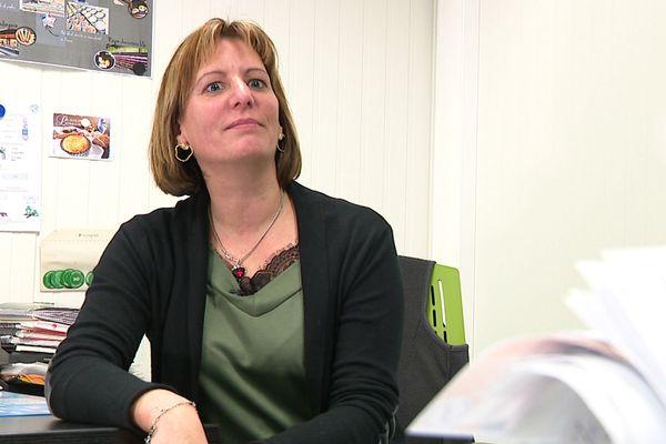 Delphine Boulanger, co-gérante de la Maison Boulanger à Colombey-les-Belles (Meurthe-et-Moselle).