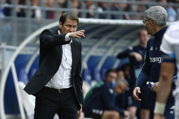 Rudi Garcia avait été exclu en début de seconde période du match comptant pour la 33e journée de L1 pour avoir protesté trop vertement à la suite d'une action litigieuse sur Florian Thauvin dans la surface adverse.