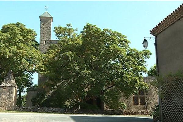 Le château de Vénès, dans le Tarn, a été érigé au XIIème siècle sur un amas rocheux.