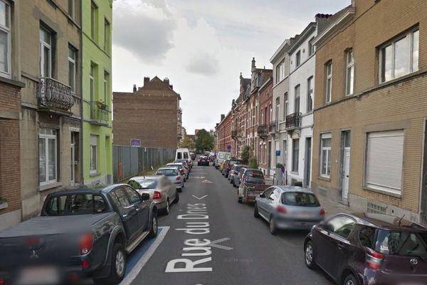 Rue du Dries, à Forest, près de Bruxelles (capture d'écran Google StreetView).