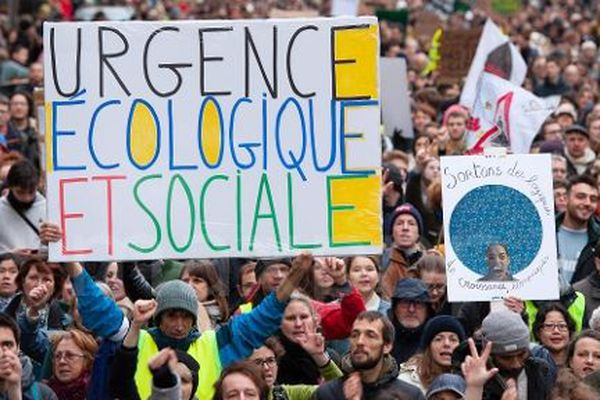 Marche mondiale pour le climat à Paris - 8 décembre 2018