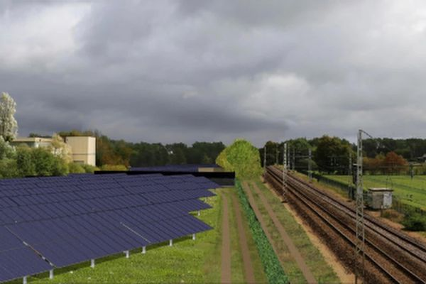 Le projet de parc photovoltaïque de Saint-Mars-La-Brière, en Sarthe
