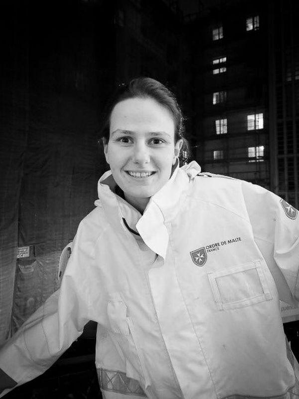 Juliette Niclas, jeune bénévole engagée au sein de l'Ordre de Malte