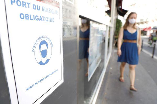 La ville de Lons-le-saunier a décidé de rendre le port du masque obligatoire dans certaines de ses rues, à partir du 19 août.