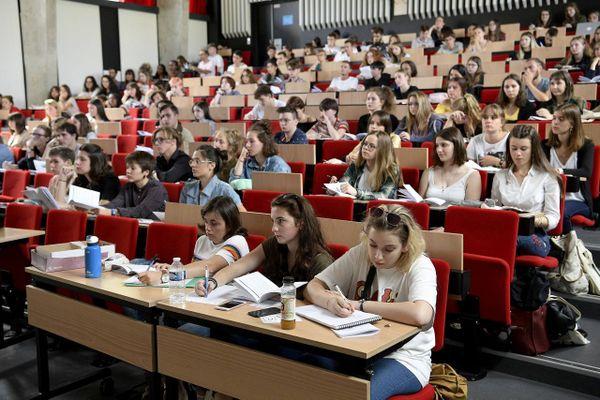 Illustration. Les places seront chères pour tous les néobacheliers à la rentrée 2020 dans les amphis des universités.