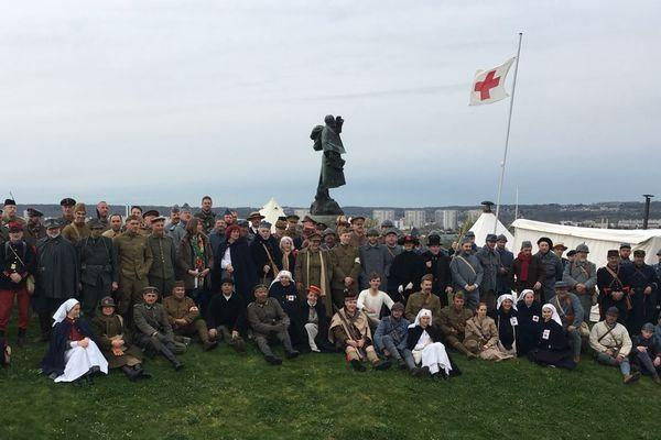 Le musée de la Grande Guerre, à Meaux, est à l'origine d'un weekend de reconstitution, avec 200 participants pour cette 8e édition.
