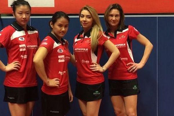 L'équipe du CP Lys à Bursa.