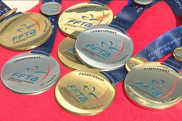Les archers riomois ont remporté 10 médailles lors des championnat de France de tir à l'arc qui se tenaient dans leur ville
