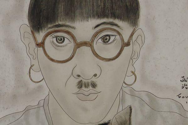 Autoportrait Foujita