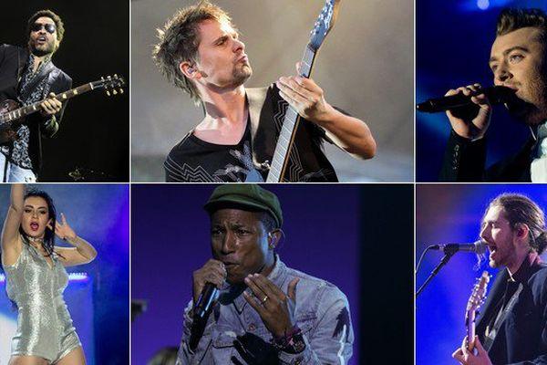 Lenny Kravitz, Charli XCX, Muse, Pharrell Williams, Sam Smith et Hozier sur une même affiche, l'été prochain, au Main Square d'Arras.