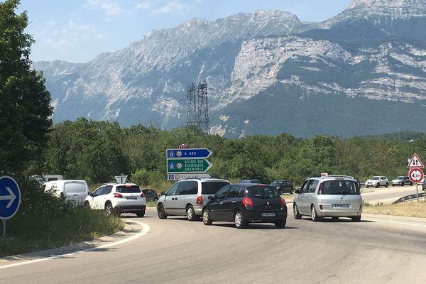 La vitesse n'est plus limitée à 70 km/h dans le bassin grenoblois, à compter de dimanche 7 juillet 12h30.