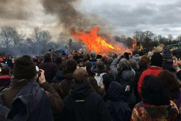 Rassemblement festif du 10 février 2018 sur la ZAD de Notre-Dame-des-Landes
