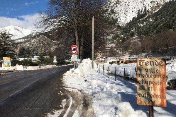 Un seul accès est désormais envisageable pour atteindre le village.