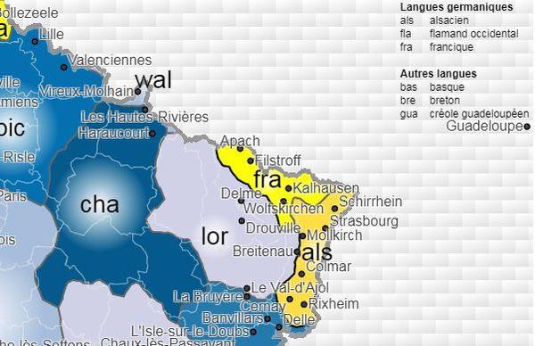 Atlas des langues régionales