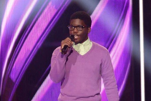 """Sean, candidat rémois dans l'émission """"The Voice"""" (TF1)"""