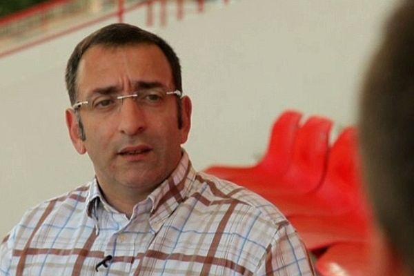 Thierry Granturco,l'actuel président du FCR