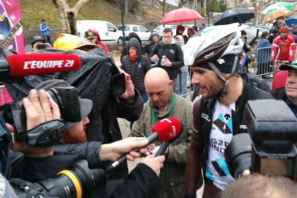 Ben Gastauer, vainqueur de la 1ère étape du 47ème Tour du Haut-Var, le 21 février 2015