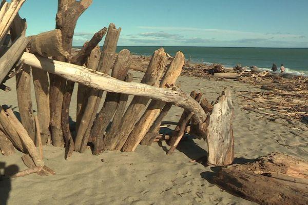 Les traces de la tempête Gloria sont toujours visibles sur le littoral catalan, un après son passage.