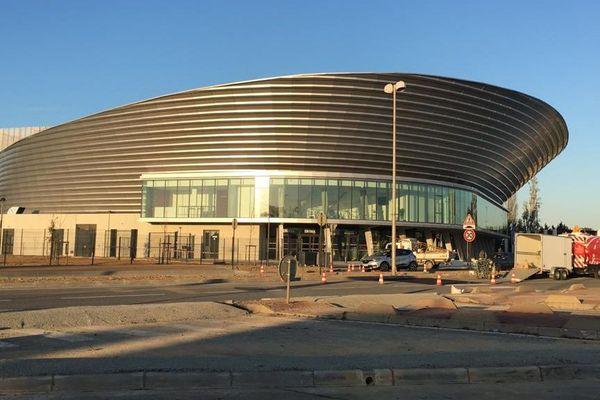 Narbonne (Aude) - la salle de spectacles et concerts Arena - décembre 2019.