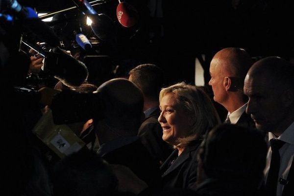 Marine Le Pen, dimanche 13 décembre 2015