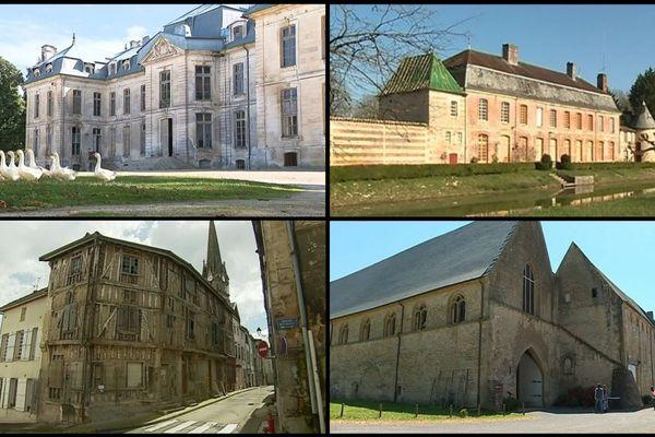 Cinq sites de Champagne-Ardenne vont bénéficier de l'argent du loto du patrimoine en 2019.