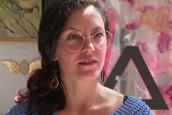 Sarah Anton, rencontrée le mercredi 2 septembre 2020, à Grenoble.