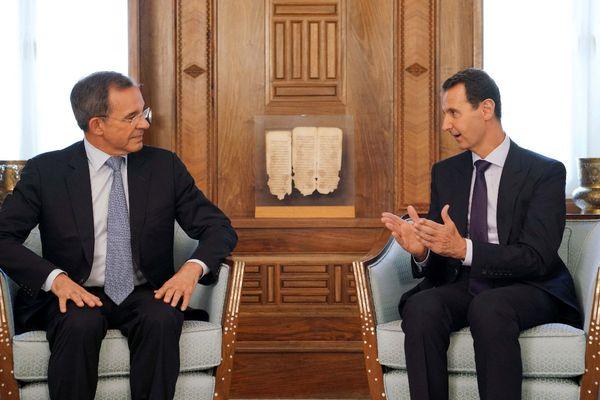 Le député Thierry Mariani a rencontré le président syrien Bachar al-Assad à plusieurs reprises pendant la guerre civile