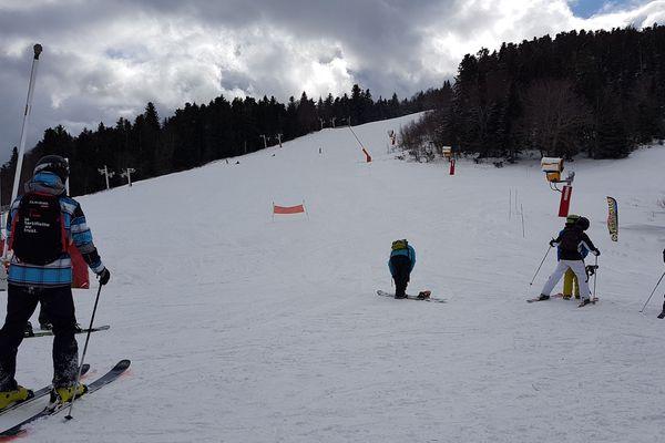 L'avalanche mesure 150m de long pour 50m de large.