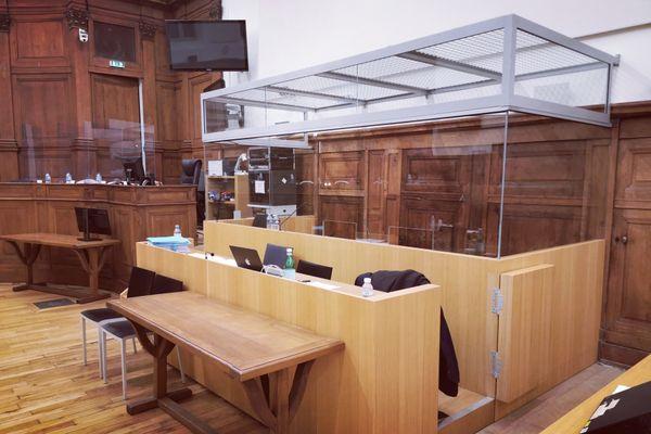 C'est à la Cour d'assises de Saône-et-Loire que se tient le procès toute la semaine.