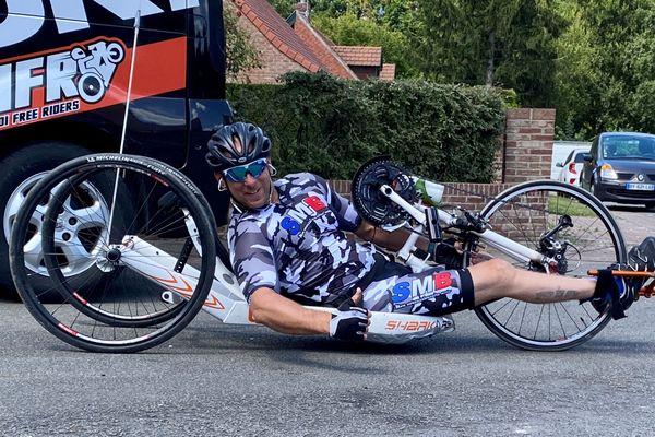 Samedi, le pilote moto Stéphane Paulus fera la montée du Beausset sur son handbike. Il invite les cyclistes à venir l'accompagner !