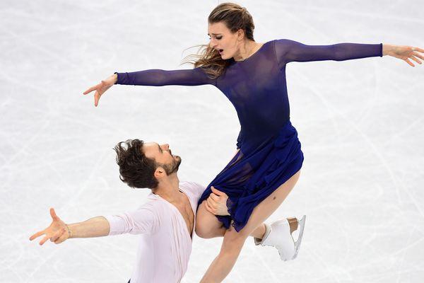 Gabriela Papadakis et Guillaume Cizeron seront de retour à Clermont-Ferrand le 28 février pour fêter leur médaille d'argent.