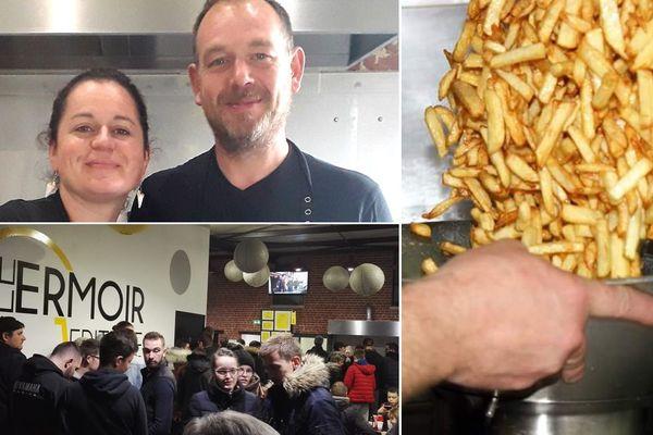 Caroline et Benoît Bernhard, les meilleurs fritiers de France