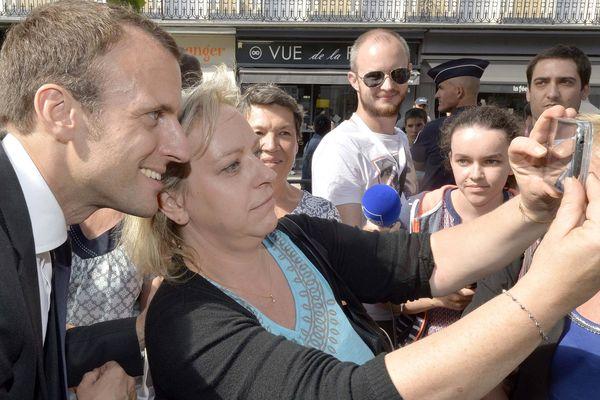 Emmanuel Macron n'a pas fait que des heureux lors de son passage à la French Tech à Laval le 25 juillet 2016
