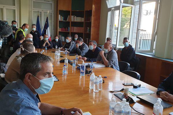 Le CSE a commencé à 8h à la sous préfecture de Lorient