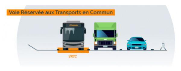 La bande d'arrêt d'urgence sera utilisée par les transports en commun au sud de Nantes sur l'A83