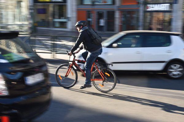 Photo d'illustration - Les vélos sont très vulnérables en ville.
