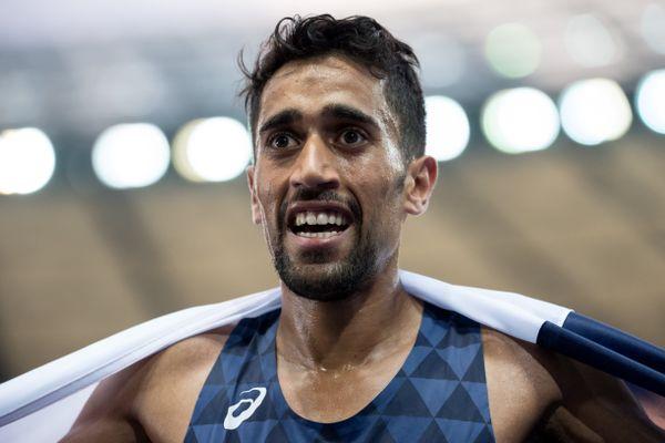 Morhad Amdouni a terminé huitièmes de Mondiaux de semi-marathon.
