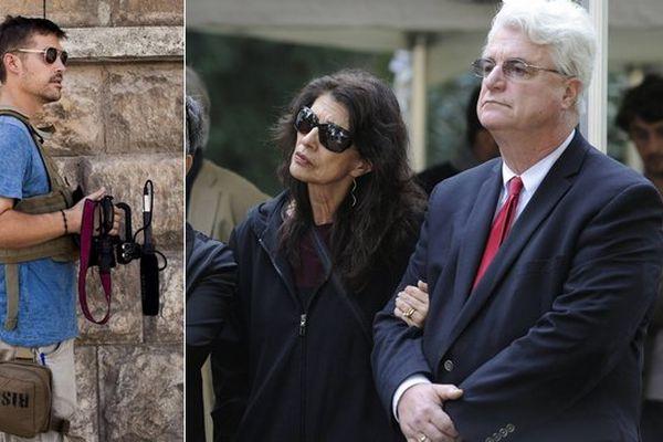 Les parents de James Foley ont exigé le retrait immédiat de la photo de leur fils décapité, tweetée mercredi par Marine Le Pen