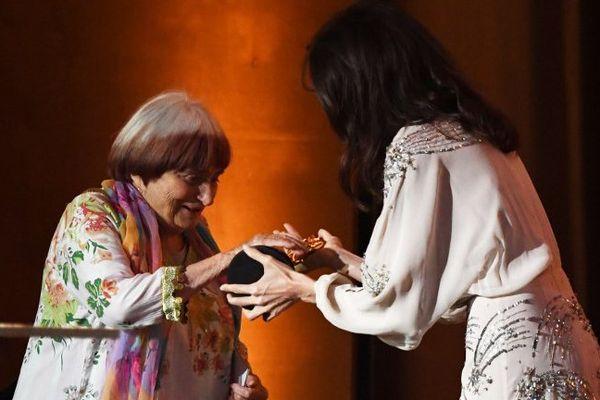 La réalisatrice sétoise Agnès Varda a été récompensée cette nuit à Hollywood pour l'ensemble de sa carrière - 12 novembre 2017