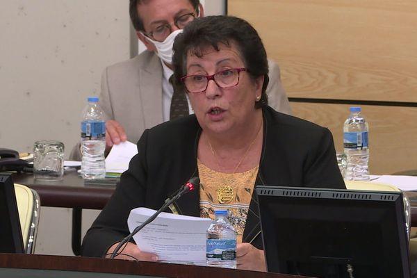 Éliane Barreille élue présidente du conseil départemental des Alpes-de-Haute-Provence.