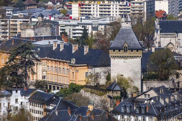 La ville de Chambéry.