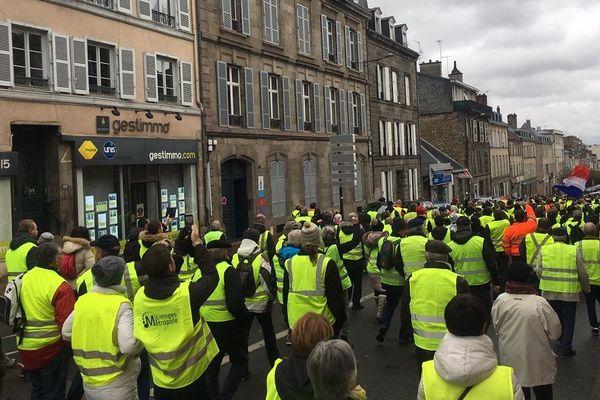 Une marche pacifique de gilets jaunes à Limoges ce samedi 1er décembre