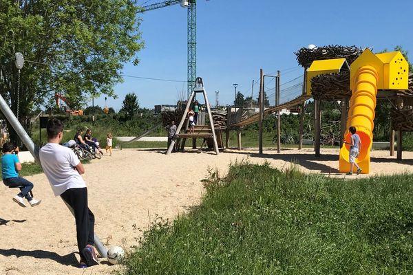 Le parc Baud-Chardonnet à Rennes