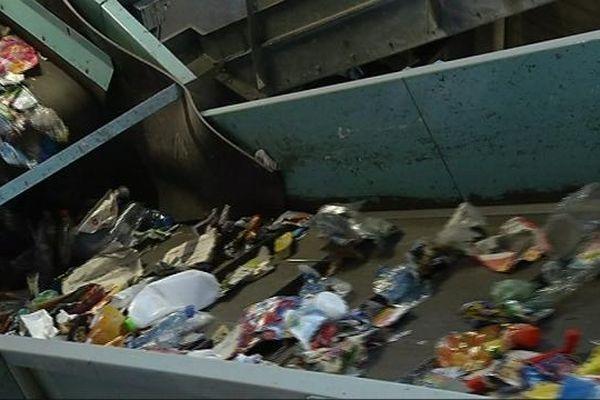 Le centre de tri de l'agglomération dijonnaise collecte chaque année 20.000 tonnes de déchets recyclables