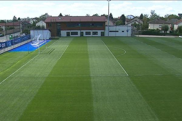 Le centre d'entraînement de Péronnas.