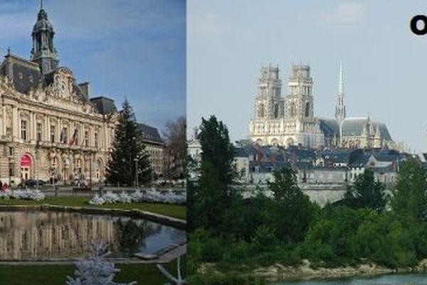 Orléans et Tours peuvent officiellement devenir des métropoles.