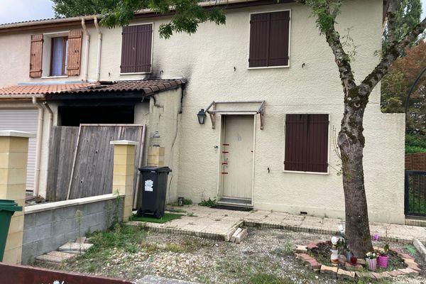 La maison ùu vivait CVhaniez Daoud, tuée par son mari à Mérignac
