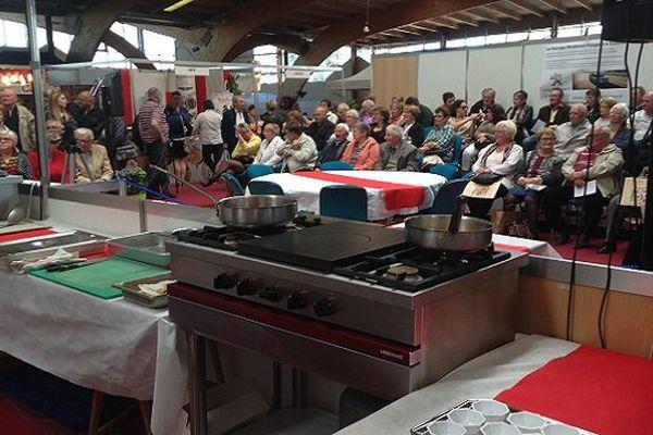 Le public est venu nombreux assister aux démonstrations lors des Journées gourmandes de Saulieu